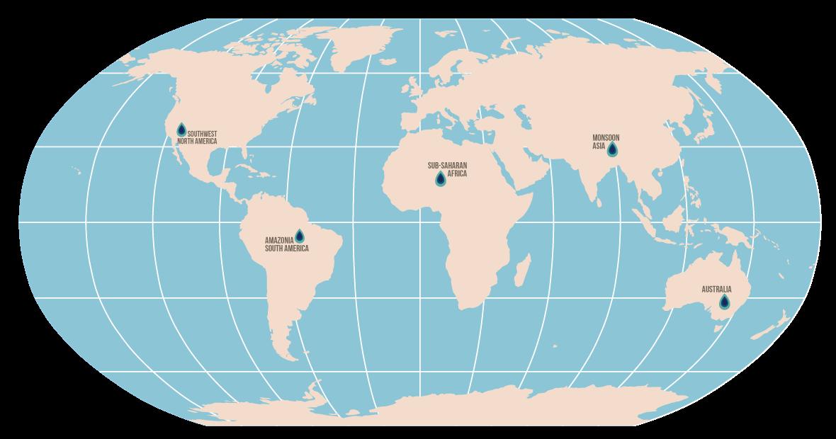 Simple pin map
